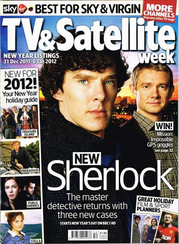 TV & Satellite 31 Dec 2011 - Sherlock Series2 -