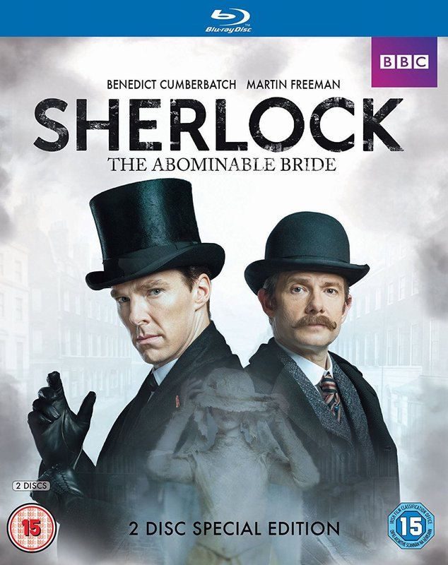 【SP:tAB-US】SHERLOCK:The Abominable Bride - 忌まわしき花嫁US(アメリカ)版DVD/Blu-Ray/iTunes